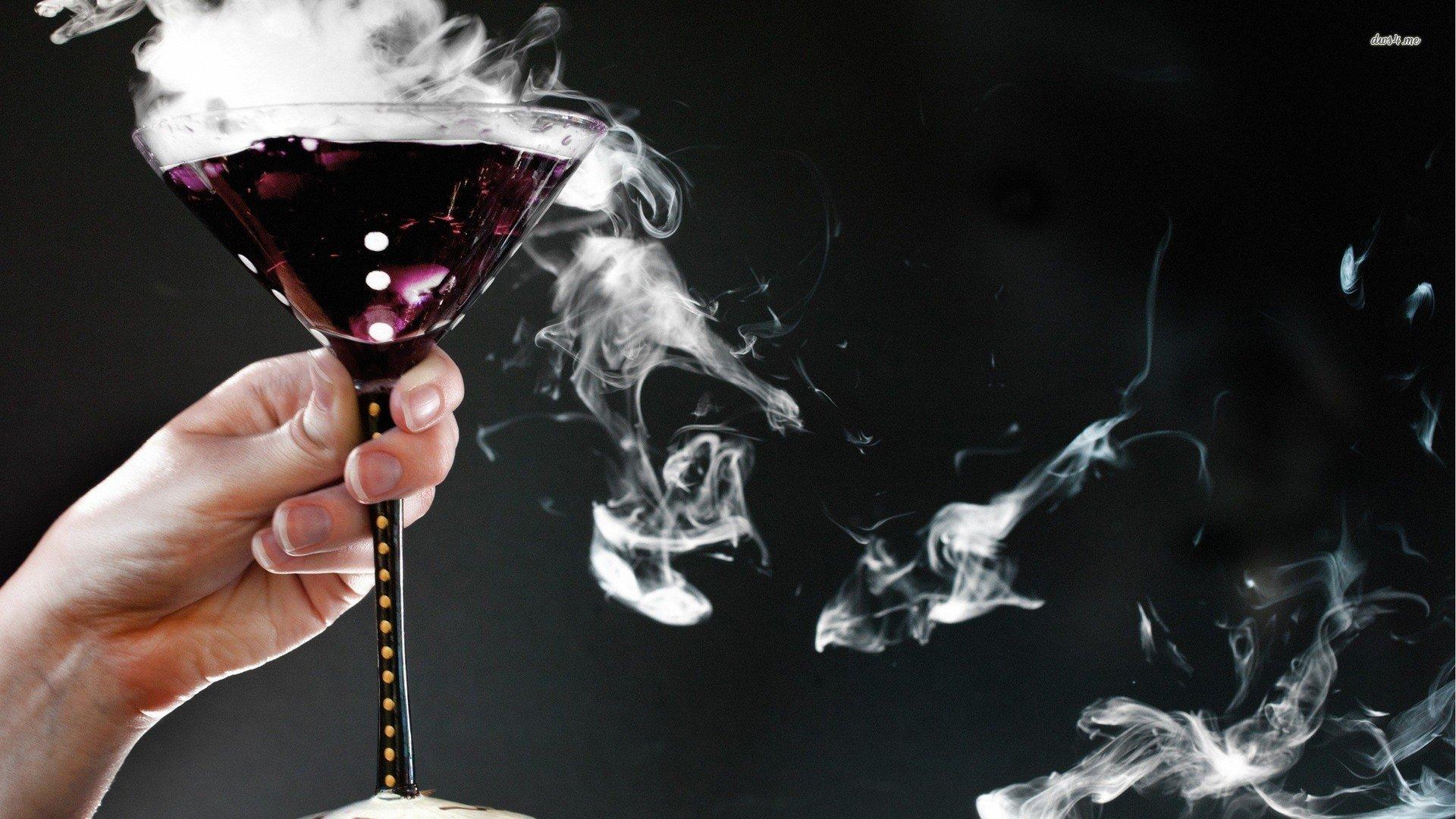 poison in wine